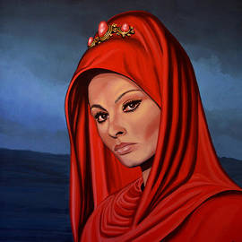 Sophia Loren 2  by Paul Meijering