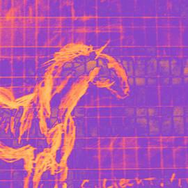 Carolina Liechtenstein - Sorraia Wild Horse in a City
