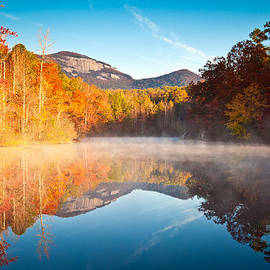 Dave Allen - South Carolina Table Rock State Park Autumn Sunrise - Balance