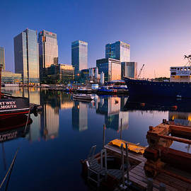 Milan Gonda - South Dock in Canary Wharf.