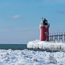 South Haven Ice by Ann Horn