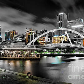 Southbank Footbridge by Az Jackson