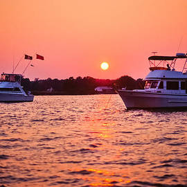 James Oppenheim - Southern Maryland Sunset on the Water