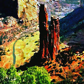Bob and Nadine Johnston - Spider Rock Canyon DeChelly