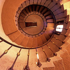Paul W Faust -  Impressions of Light - Spiral Castle Stairs