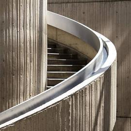 John McGraw - Spiral Staircase in Renaissance Center in Detroit