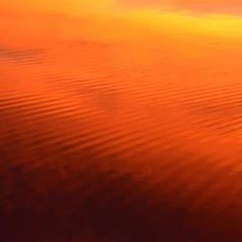 Splash Of Sunset  by Cindy Greenstein
