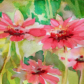 Mindy Newman - Spring Daisies in the Pink