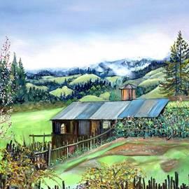 Spring Farm by Asha Carolyn Young