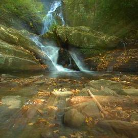 Dan Sproul - Spruce Flats Falls In The Smoky Mountains