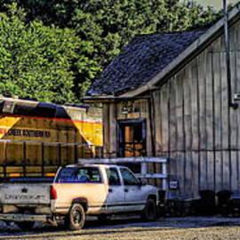 Reid Callaway - Squaw Creek Southern Locomotive in Madison