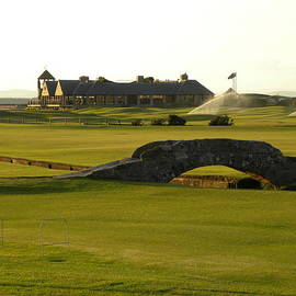St Andrews Links Golf Course by Peggy  McDonald