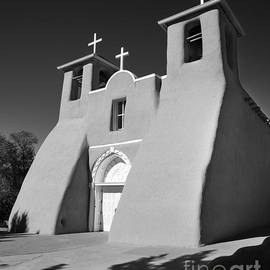 St. Francis de Assisi church, Taos, New Mexico by Justin Foulkes