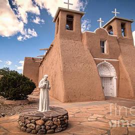 St Francis de Asis Taos by Bob and Nancy Kendrick