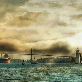 St. Lawrence Seaway by Lori Deiter