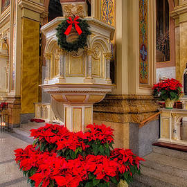 St. Mary of the Angels Christmas Lectern