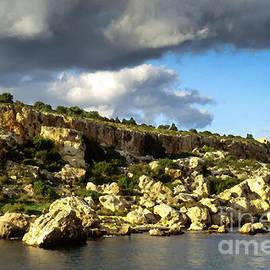 St Pauls Bay Malta by Thomas R Fletcher