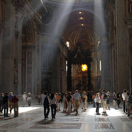 St Peters Basillica 2 by Bob Christopher