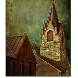 St Peter's By Night Greeting Card by Julia Springer