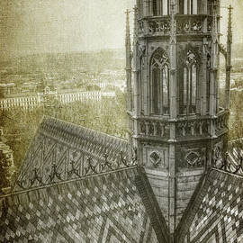 Joan Carroll - St Vitus Cathedral South Tower View