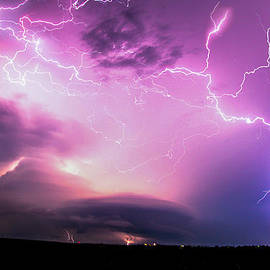 Stacked Nebraska Lightning by NebraskaSC