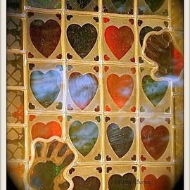 Kathy Barney - Stained Glass Hands and Hearts