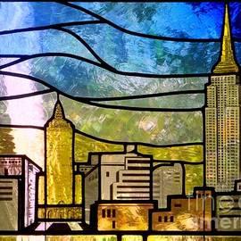 Ed Weidman - Stained Glass Skyline