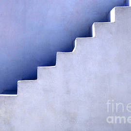 Stairs In Santorini by Bob Christopher