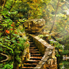 Stairs To Heaven by Darren Fisher