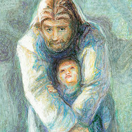 Nancy Mauerman - Standing Christ With Child