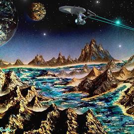 Michael Rucker - Star Trek - Orbiting Planet