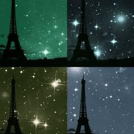 Marianna Mills - Starry Night - Eiifel Tower Paris