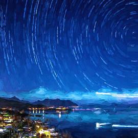 Starry Nighttrails by Dan McManus