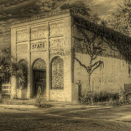 Vintage State Building by Harry B Brown
