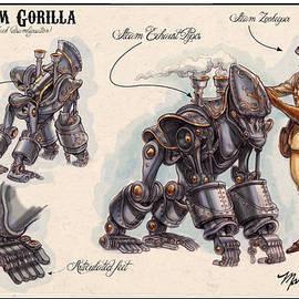 Mark Page - Steam Gorilla