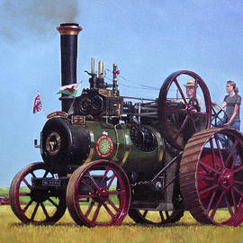 steam traction engine Ransomes Sims and Jefferies General Purpose Engine