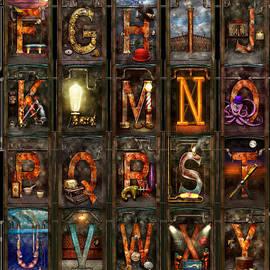 Steampunk - Alphabet - Complete Alphabet by Mike Savad