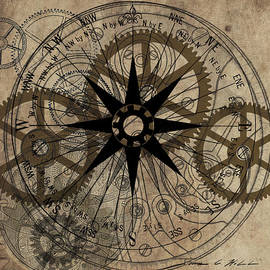Steampunk Gold Gears II  by James Christopher Hill