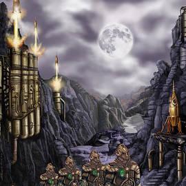 James Christopher Hill - Steampunk Moon Invasion