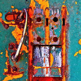 Karon Melillo DeVega - Steel Abstraction