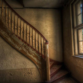 Steps in a curve by Nathan Wright