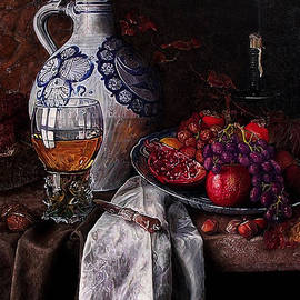 Still life with fruits 2 by Safir Rifas