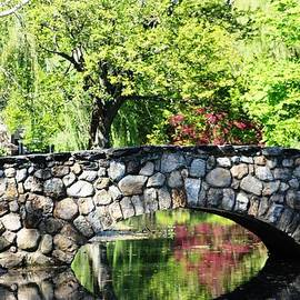 Judy Palkimas - Stone Bridge Reflection