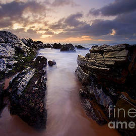 Stone Channel by Mike  Dawson