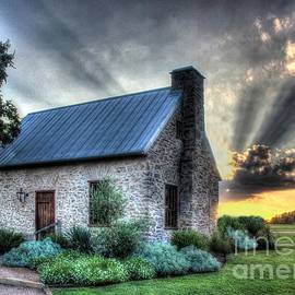 Delilah Downs - Stone Cottage at Sunset