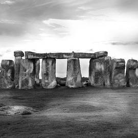 Stonehenge in the Rain by Denise Dube