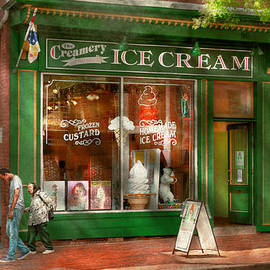 Store Front - Alexandria VA - The Creamery by Mike Savad