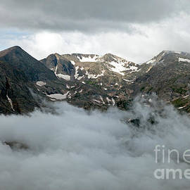 Storm At Rock Cut In Rocky Mountain National Park by Fred Stearns