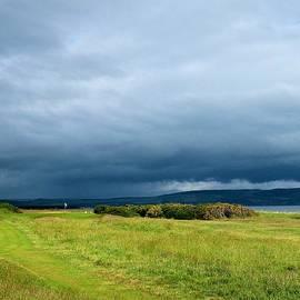 Scott Carda - Nairn Golf Club - Storm Clouds on #6