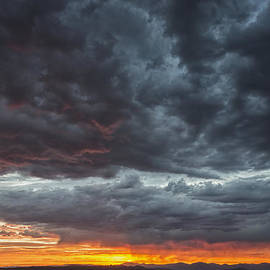 Brian Harig - Stormy Jemez Mountains Sunset - Santa Fe New Mexico